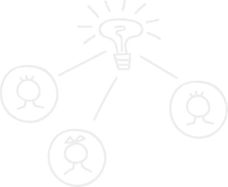 Idea People Line Icon