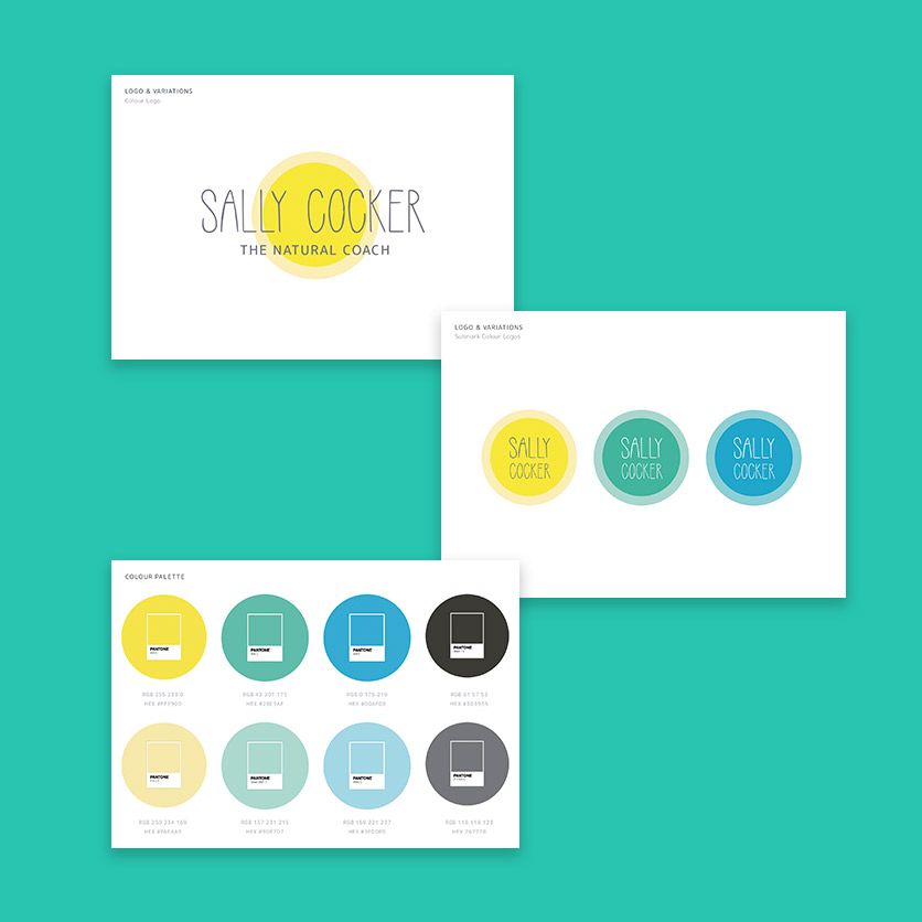 Sally Cocker Branding
