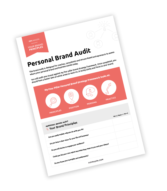 Free Personal Brand Audit