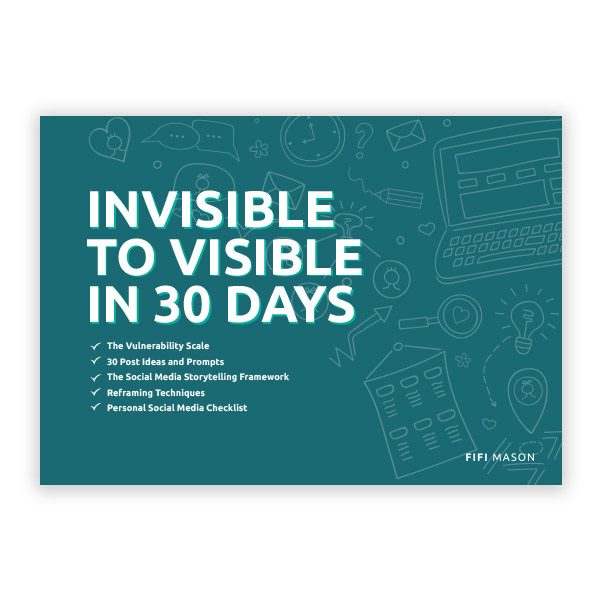 Invisible to visible 30 days - Product Image