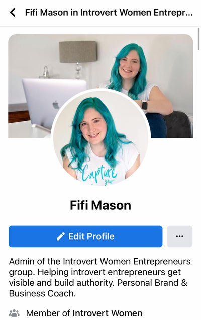 Edit your Facebook group profile
